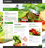 Food & Drink Drupal  Template 37027