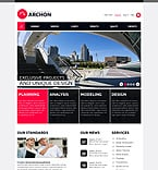 Architecture PSD  Template 37038