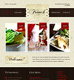 Cafe & Restaurant PSD  Template 37041
