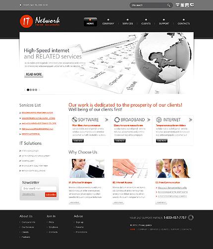 PSD макет сайта №37046