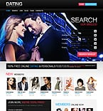 Dating PSD  Template 37047