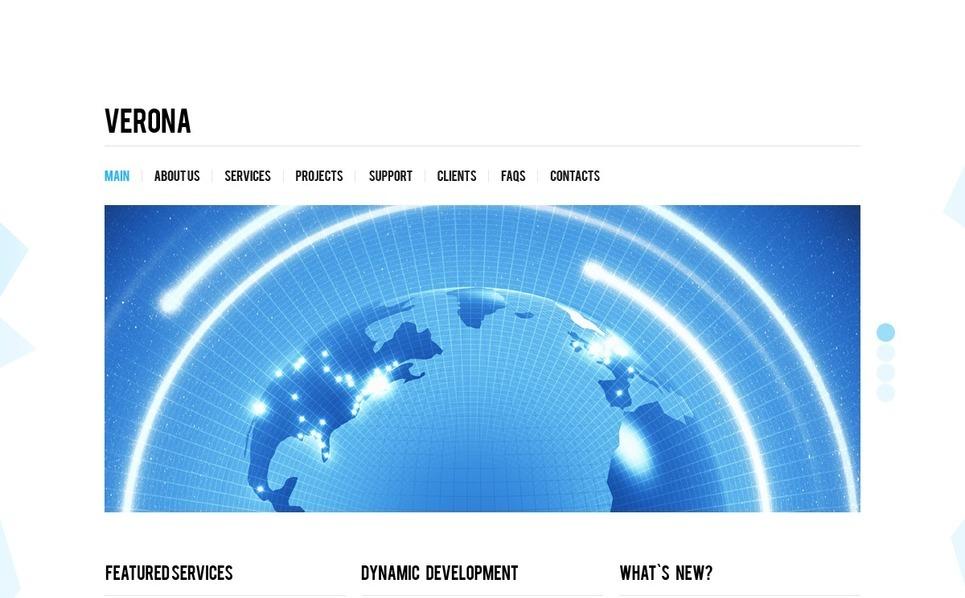 Plantilla PSD #37056 para Sitio de Negocio y Servicios New Screenshots BIG