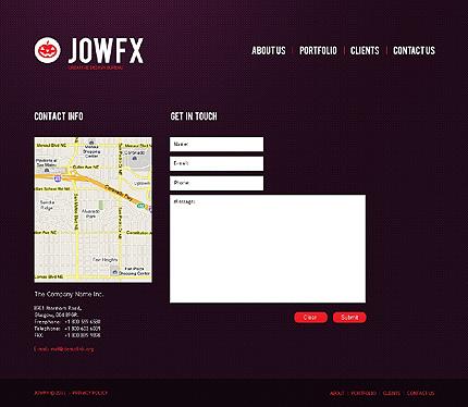 Web design Website Template 37076, Website Templates - Zeronese