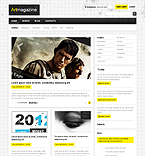 Art & Photography Drupal  Template 37082