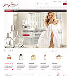 Beauty ZenCart  Template 37091