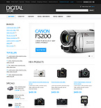 Electronics osCommerce  Template 37092