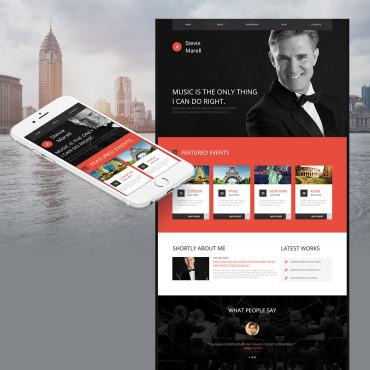 personal web page templates profile portfolio motocms