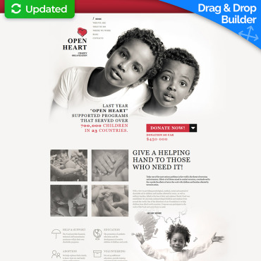 Charity Website Templates - NGO & Non-Profit | MotoCMS