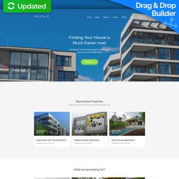 Create Real Estate Website | Real Estate Templates | MotoCMS