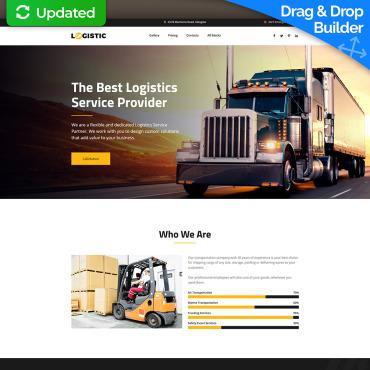 Transportation Website Templates - Transport Logistics | MotoCMS