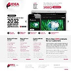 Software Website  Template 37105