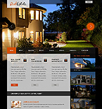 Real Estate Website  Template 37109