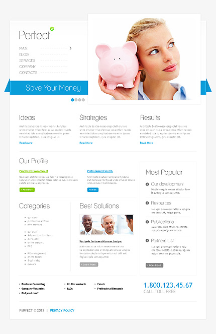 Drupal Template 37114 Main Page Screenshot