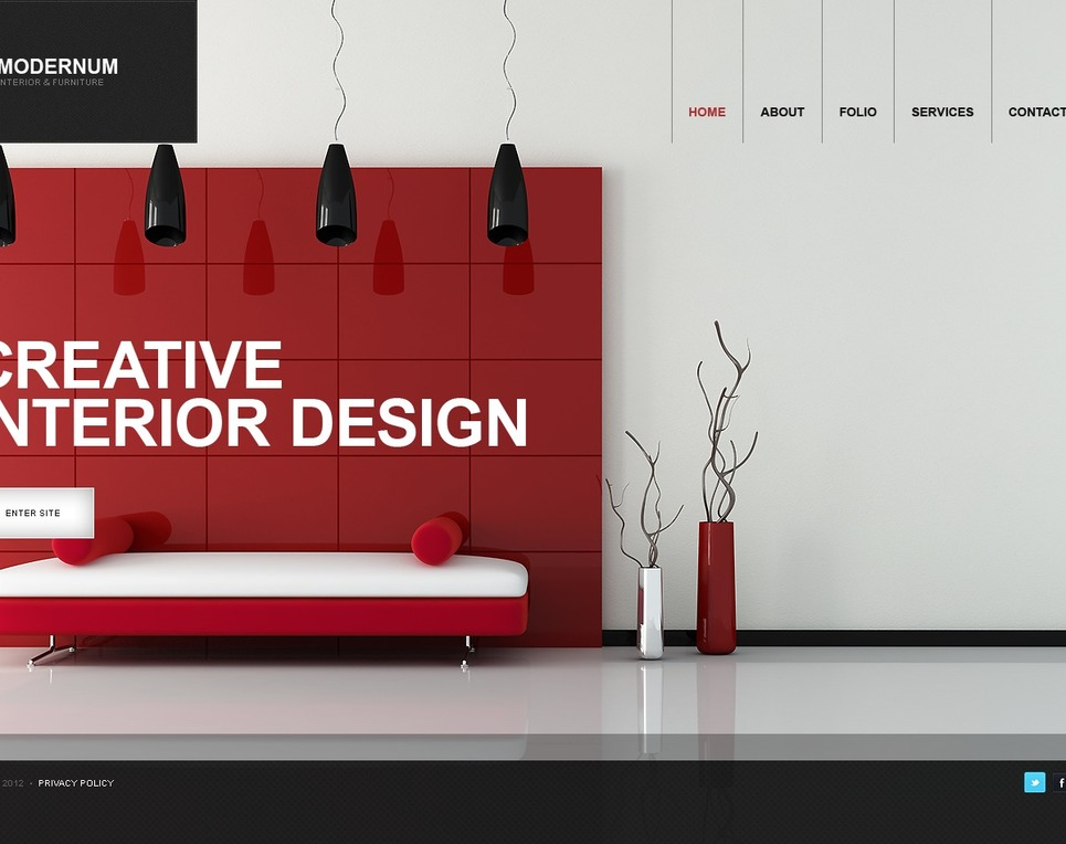 Motyw wordpress na temat wyposa enie wn trz for Good interior design websites