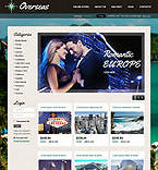 Travel VirtueMart  Template 37124