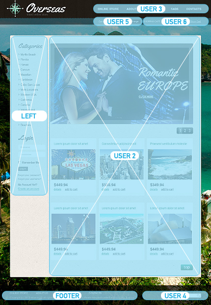 ADOBE Photoshop Template 37124 Home Page Screenshot