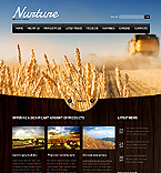 Agriculture Website  Template 37133