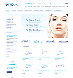 Medical osCommerce  Template 37145