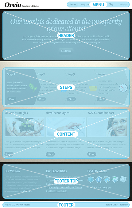 Drupal Template 37146 Main Page Screenshot