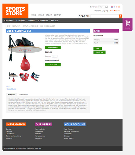 ADOBE Photoshop Template 37149 Home Page Screenshot