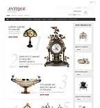 PrestaShop: Clean Style Zero Downloads Antique Templates