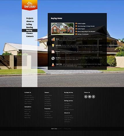 Template 37157 ( Buying Page ) ADOBE Photoshop Screenshot