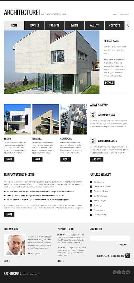 Drupal Template 37177 Main Page Screenshot