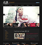 Fashion Website  Template 37189
