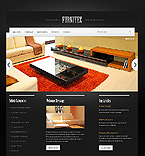 Furniture Website  Template 37193