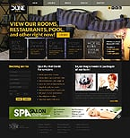 Hotels Website  Template 37194