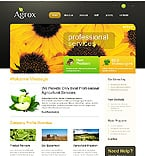 Agriculture Website  Template 37198