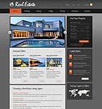 Real Estate PSD  Template 37211