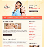 Education Website  Template 37225