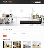 Real Estate Website  Template 37258