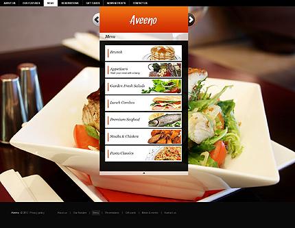 Template 37260 ( Menu Page ) ADOBE Photoshop Screenshot