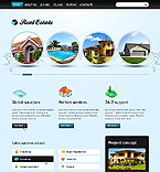 Real Estate Website  Template 37264