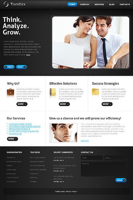 Drupal Template 37271 Main Page Screenshot