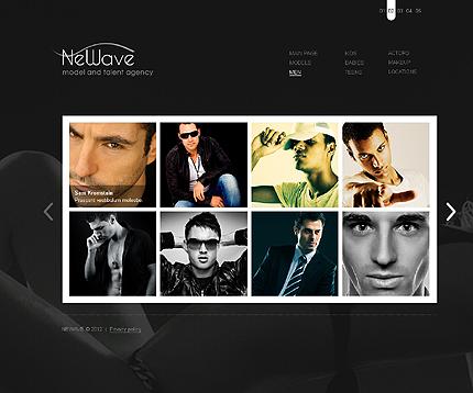 Template 37277 ( Men Page ) ADOBE Photoshop Screenshot