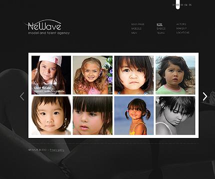 Template 37277 ( Kids Page ) ADOBE Photoshop Screenshot
