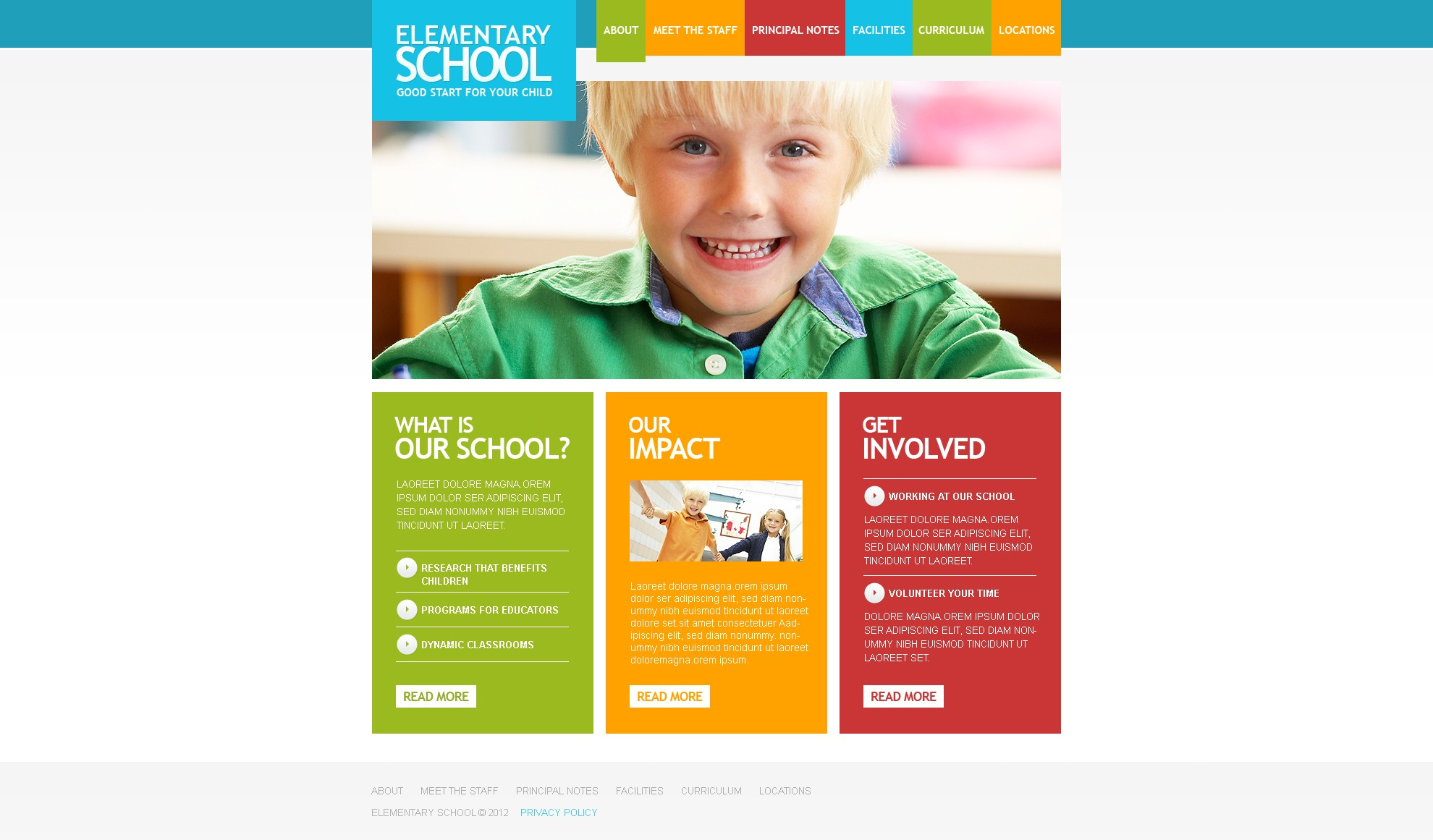 education psd template 37213