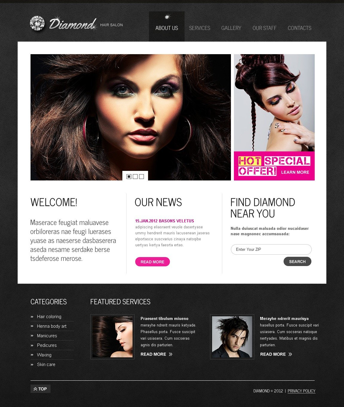 hair salon websites koni polycode co