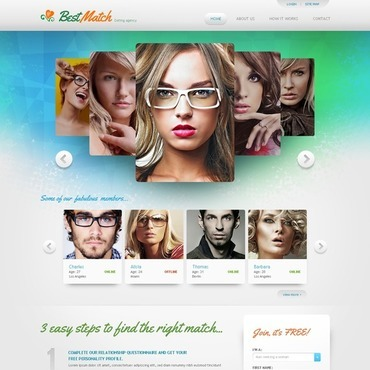 Online dating sites templates