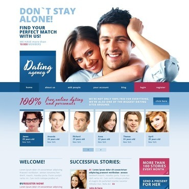Dating site template wordpress blog