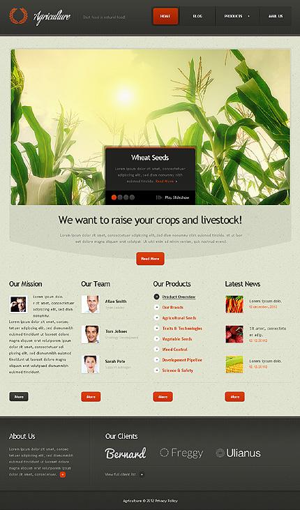 Drupal Template 37304 Main Page Screenshot