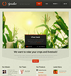 Agriculture Drupal  Template 37304