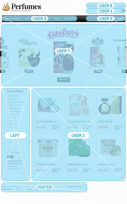 ADOBE Photoshop Template 37319 Home Page Screenshot