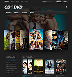 Entertainment VirtueMart  Template 37321