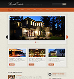 Real Estate Website  Template 37328