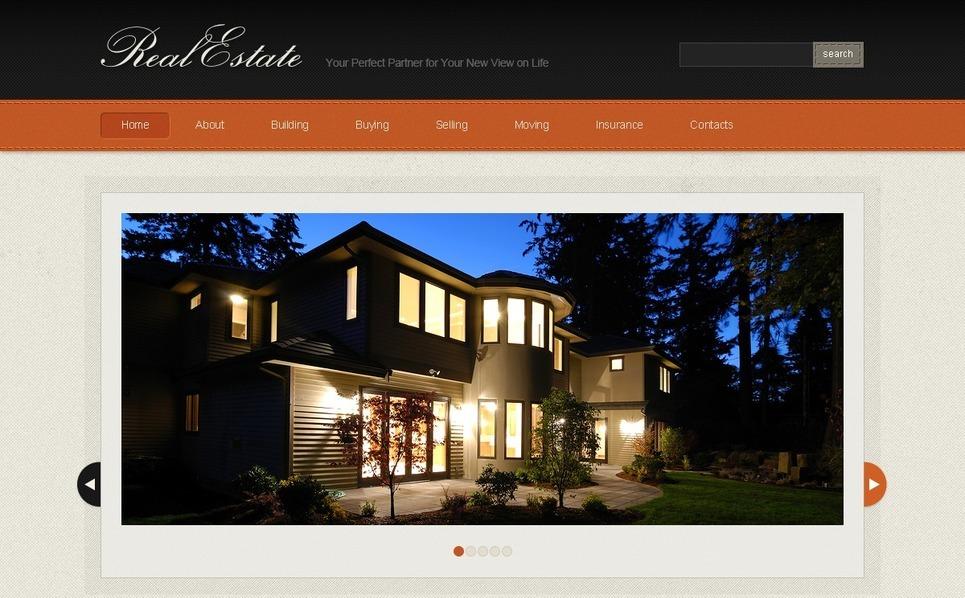 Website template over Makelaarskantoor New Screenshots BIG