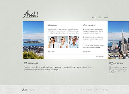 Template 37331 ( Main Page Page ) ADOBE Photoshop Screenshot